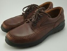 ECCO Seawalker brown oxford cross shoes men's 43 EUC