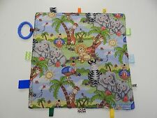 Baby Taggie -Tag Blanket Comforter Sensory Toy - Bazooples - Babies Love These!!