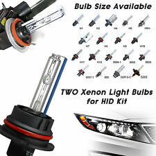 Two Replacement Light Bulbs for Xenon HID Kit H1 H3 H7 H8 H9 H10 H11 9006 9005