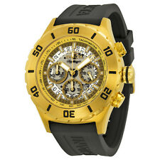 Invicta Signature II Chronograph White Dial Gold-tone Mens Watch 7379