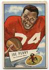 Joe Perry 1952 Bowman Large #83 49ers VG+ Condition 8937