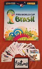 """""""PANINI"""" 20 St.neue STICKER frei wählen - FIFA WORLD CUP FUßBALL WM 2014 BRASIL"""