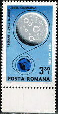 Romania US Space Apollo 8 Moon Exploration Program stamp 1969 MNH