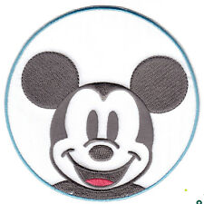 "DISNEY - MICKEY MOUSE FACE IN CIRCLE (4"") Simplicity Iron On/TV, Movie, Cartoons"