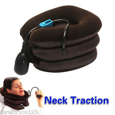 Soft Air Cushion Neck Cervical Traction Device Shoulder Support Brace Pillow
