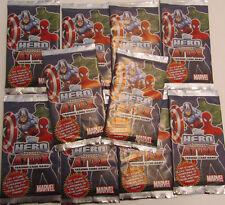 Hero Attax 3 Topps / Trading Cards / 10 Tüten / Marvel / Neu OVP