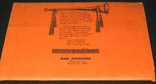 Magic Routines, Notes by RICK JOHNSSON (Magician Tricks) RARE 1970s Booklet