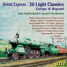 CD ORIENT EXPRESS 20 LIGHT CLASSICS IAIN SUTHERLAND TEA FOR TWO HOLY BOY ETC
