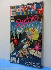 Vintage 3 Marvel Comics Barbie Books NEW Collectible 1990 Jan Feb March Dancing