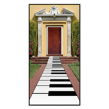 Piano Floor Decoration - Keyboard Carpet - Musical Party Decorations