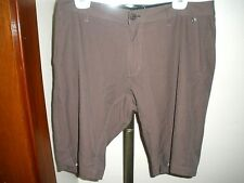 MEN'S REEF BROWN SHELTER SUPPLY WATER HIKING BOARD SHORTS SZ 34-35