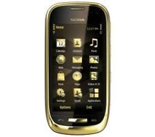 Noble Luxushandy Nokia C7-00 ORO doré Lumière Navigation 8 Mp est venu. Internet