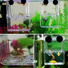 Fish Breeding Isolation Hanging Aquarium Accessories Incubator Box Tank LY