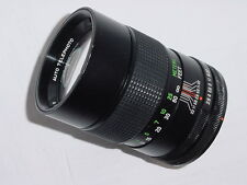 CANON FD Fit Vivitar 135mm F/2.8 Manual Focus Lens