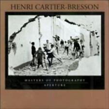 Henri Cartier-Bresson (Aperture Masters of Photography)  Books-Good Condition