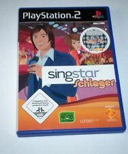 SingStar: Schlager für PS2 und PS3 (Sony PlayStation 2, 2008, DVD-Box)