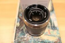 Sony SEL sel50f18 50mm f/1.8 Oss Lente. Argento. UK Stock. NUOVO.