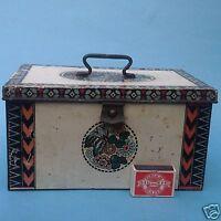 Reklame Art Deco Keksdose Blechdose E.J. Margold Wien zugeschrieben Bahlsen? ~15
