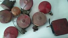 Vintage  Car Tail Lights mixed lot