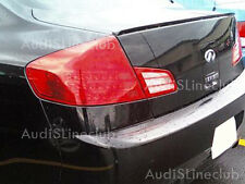 Painted Trunk lip spoiler for 03-07 Infiniti G35 Sedan $