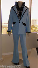 (New) ELVIS (Madison Square Garden) Pants (Tribute Artist Costume) Jumpsuit Era