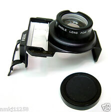 NEW SURE SHOT CANON FOCAL ADAPTER AUXILIARY WIDE ANGLE LENS MADE IN JAPAN