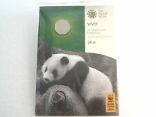 2011 Royal Mint WWF 50th Anniv 50p Fifty Pence Coin Hand Signed By Matthew Dent