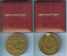 Médaille de table - Société des agriculteurs de France TROTIN sculpteur d=55mm