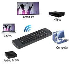 Mini Wireless Hebrew Keyboard Fly Air Mouse IR Remote Control for TV Box PC S6C4