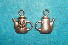 Pendant Tea Pot Charms Alice In Wonderland Charm Coffee Charm Tea Lover Charm