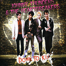 Down to Kill by Johnny Thunders Heartbreakers (2 CD 1 DVD Set Jungle Import)