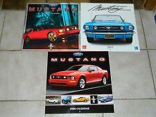 Ford Mustang - 3 klasse Kalender der Jahre 07/08/11 mit wunderschönen Bildern