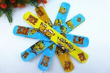 50pcs assorted color Minions Magic Slap Band Bracelets  toy bangle funny toy