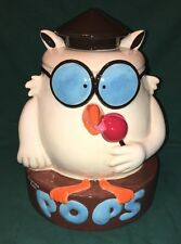 Tootsie Pop Cookie Jar  Owl T.R. Brands 2005 Advertisement