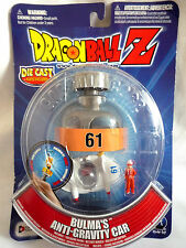 DRAGONBALL Z / BULMA'S ANTI-GRAVITY CAR / DIE-CAST VEHICLE / FIGURE & CAPSULE