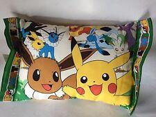 New Children's Sleeping Pillow Pikachu & Pokemon Character Kawaii Japan F/S