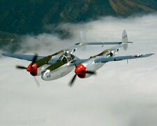 "Model Airplane Plans (UC): P-38 LIGHTNING 1/16 Scale 39"" for 2.5cc (.15) Engines"