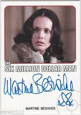 THE COMPLETE BIONIC COLLECTION MARTINE BESWICK JULIA FLOOD AUTOGRAPH LIMITED