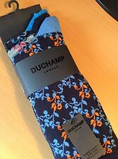 BNIP Duchamp London 3 Pairs Cotton Rich Socks Size 7-11 - Hand Linked Toe