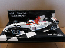 Minichamps 1:43 Takuma Sato BAR Honda 006 F1 2004 race car