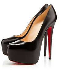 Sold out Black Christian Louboutin Daffodil 38