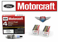 6 Motorcraft Spark Plug SP433 with Dielectric Grease & Anti-Size Lubricant