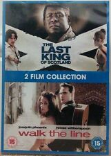 The Last King Of Scotland / Walk The Line (DVD, 2010, 2-Disc Set)