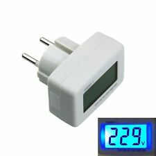 DM55-1 UNION EUROPÉENNE Plug Digital LCD AC 80-300V Voltage Testeur Voltmètre