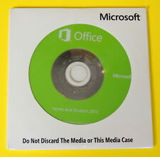 Microsoft Office Home and Student 2013 - COA and DVD included - NEW!