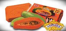 Asantee Papaya Herbal Skin Whitening Soap 125g  AHA BHA Collagen Anti Acne