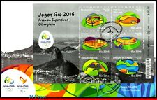 16-131F BRAZIL 2016 OLYMPIC GAMES, RIO 2016, ARENAS, STADIUMS, UPAEP, FDC