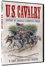 """""""U.S. CAVALRY: History of America's Mounted Forces"""" - RARE Series (DVD, 2015)"""