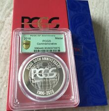 2016 30TH Anniversary of PCGS Commemorative Medal with gift box!