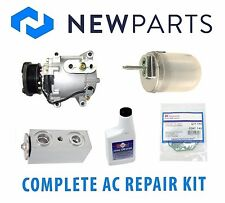 Jaguar S-Type V8 4L 00-02 Complete A/C Repair Kit NEW Compressor with Clutch